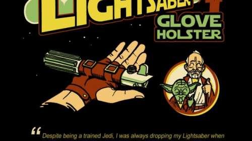 Camiseta Star Wars. The Lightsaber