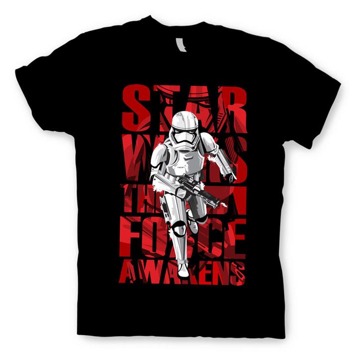 Camiseta Stormtrooper The Force Awaken. Star Wars