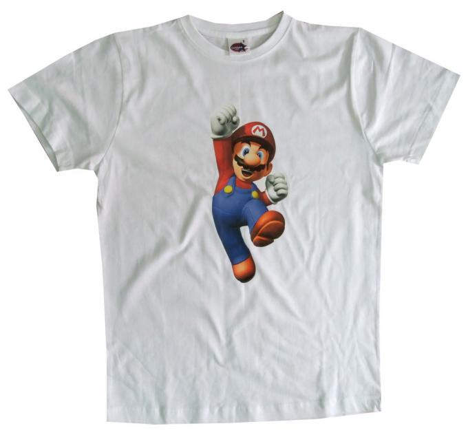 Camiseta Super Mario Bros salto