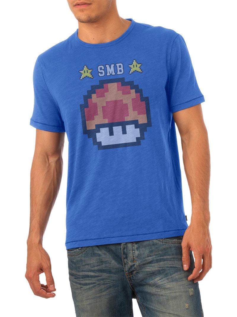 Camiseta Super Mario Bros seta naranja modelo 2