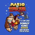 Camiseta Super Mario Bros. Mario vs Donkey Kong