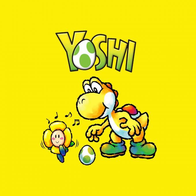 Camiseta Super mario Bros. Yoshi
