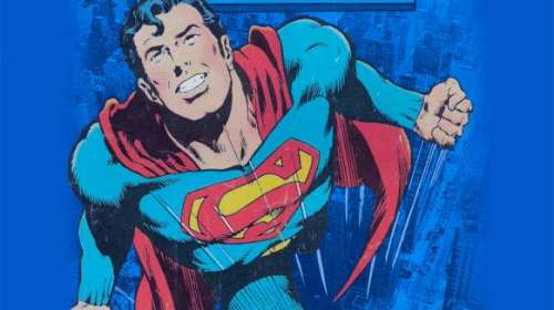 Camiseta Superman portada comic