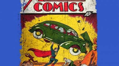 Camiseta Superman. Portada Action Cómics nº1