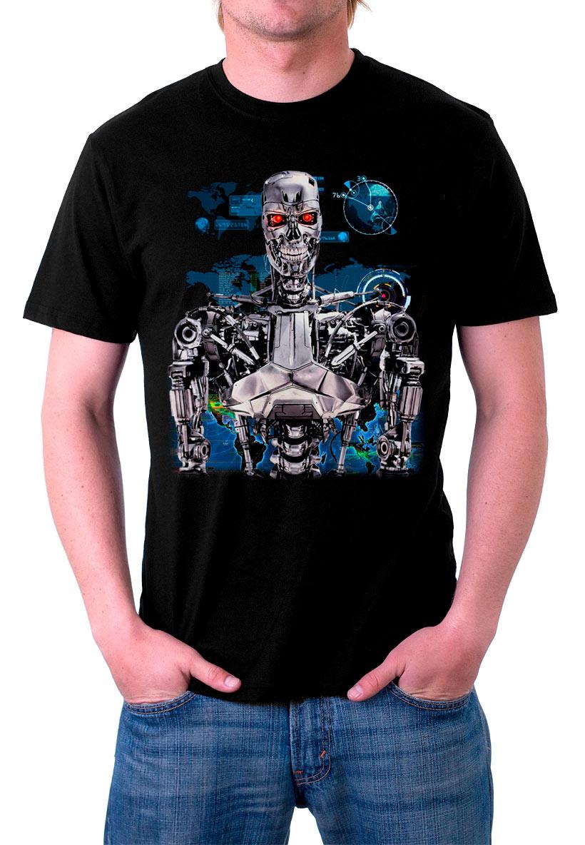 Camiseta Terminator Endoskeleton
