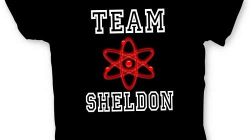 Camiseta The Big Bang Theory. Team Sheldon