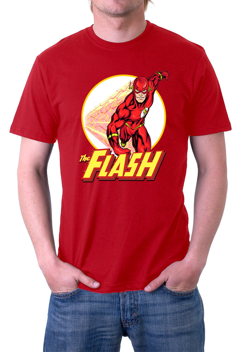 Camiseta The Flash corriendo