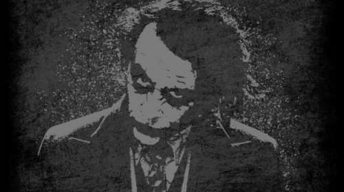 Camiseta The Joker Wanted Dead or Alive. Batman