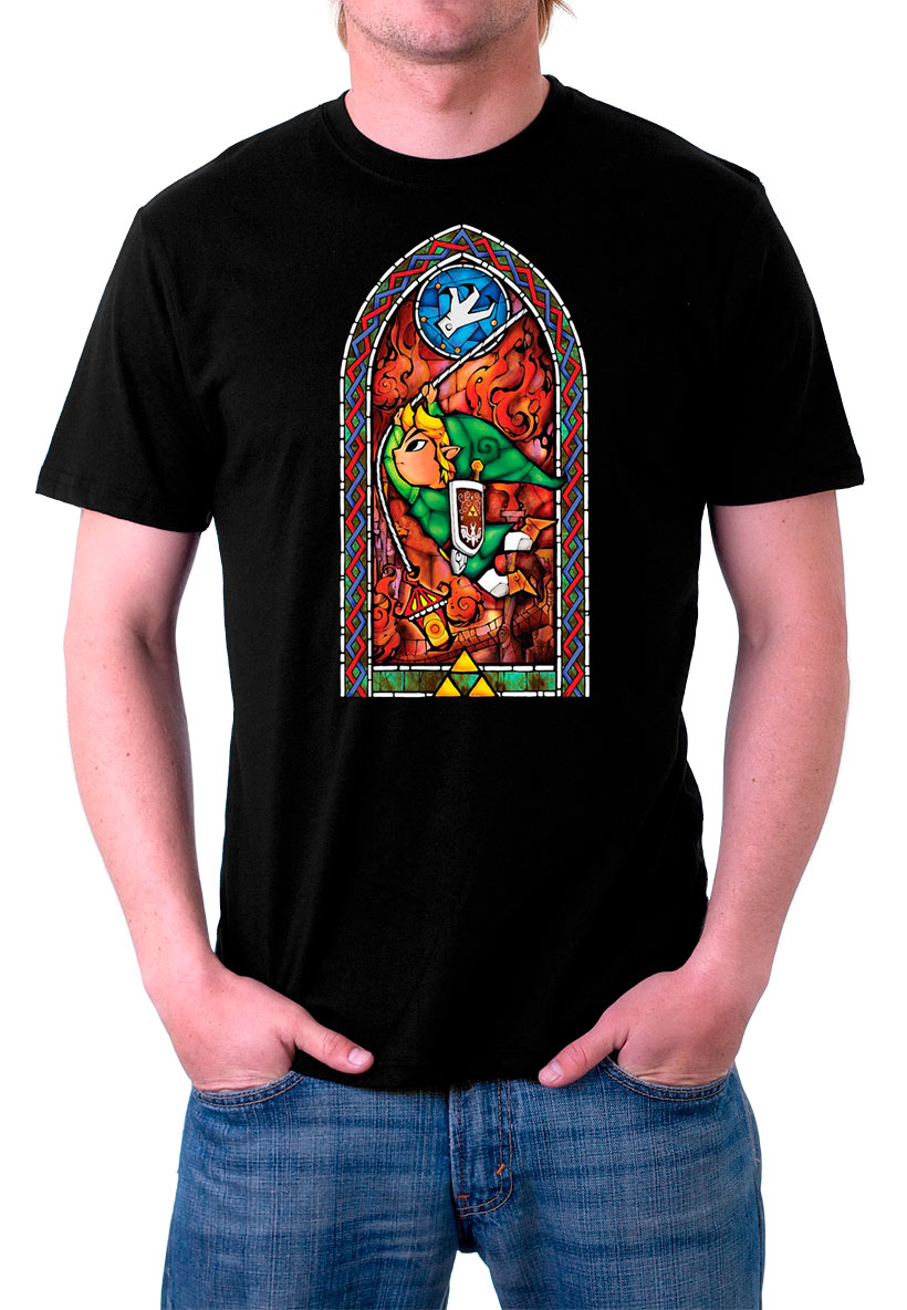 Camiseta The Legend of Zelda: The Wind Waker. Modelo 1