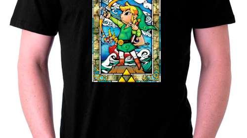 Camiseta The Legend of Zelda: The Wind Waker. Modelo 2