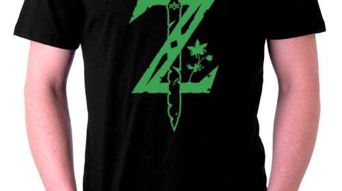 Camiseta The Legend of Zelda espada