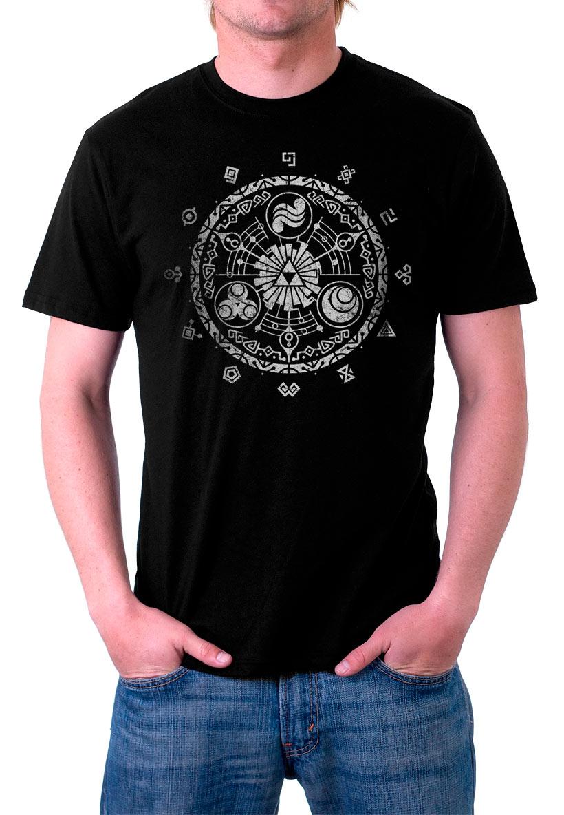 Camiseta The Legend of Zelda símbolos Triforce