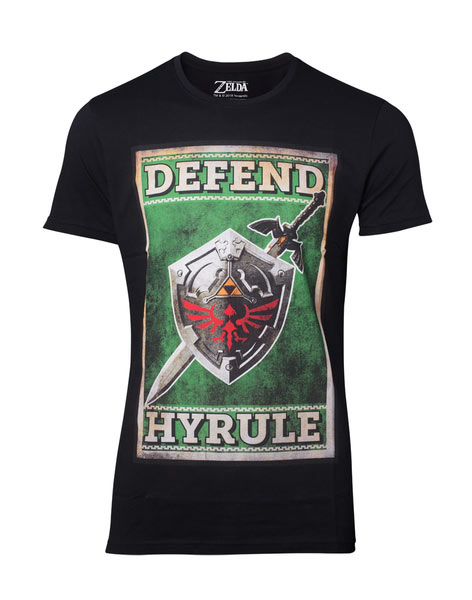 Camiseta The Legend of Zelda. Hyrule