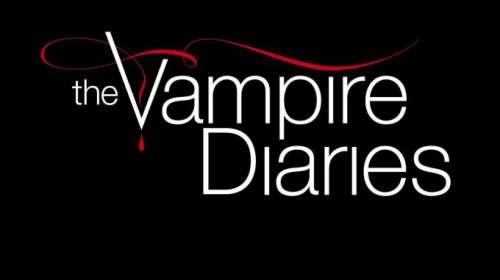 Camiseta The Vampire Diaries. Crónicas vampíricas Logo