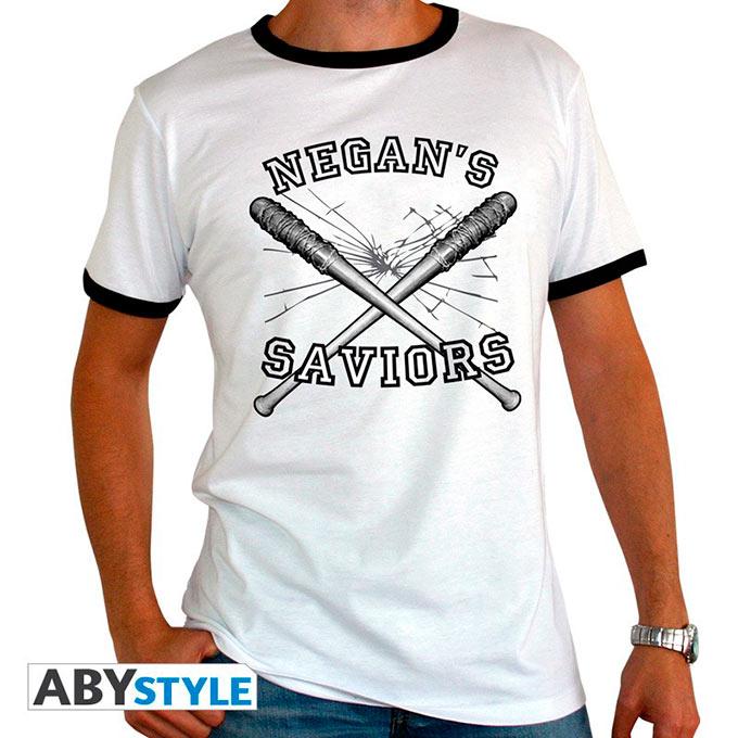 Camiseta The Walking Dead. Únete a los Salvadores