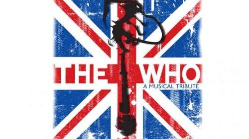 Camiseta The Who. Bandera