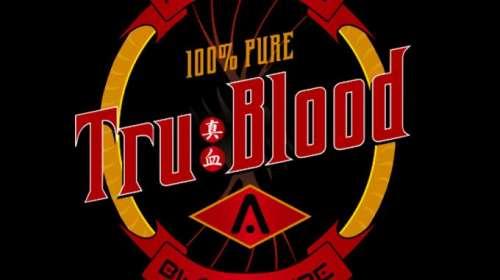 Camiseta True Blood. Logo Tru Blood