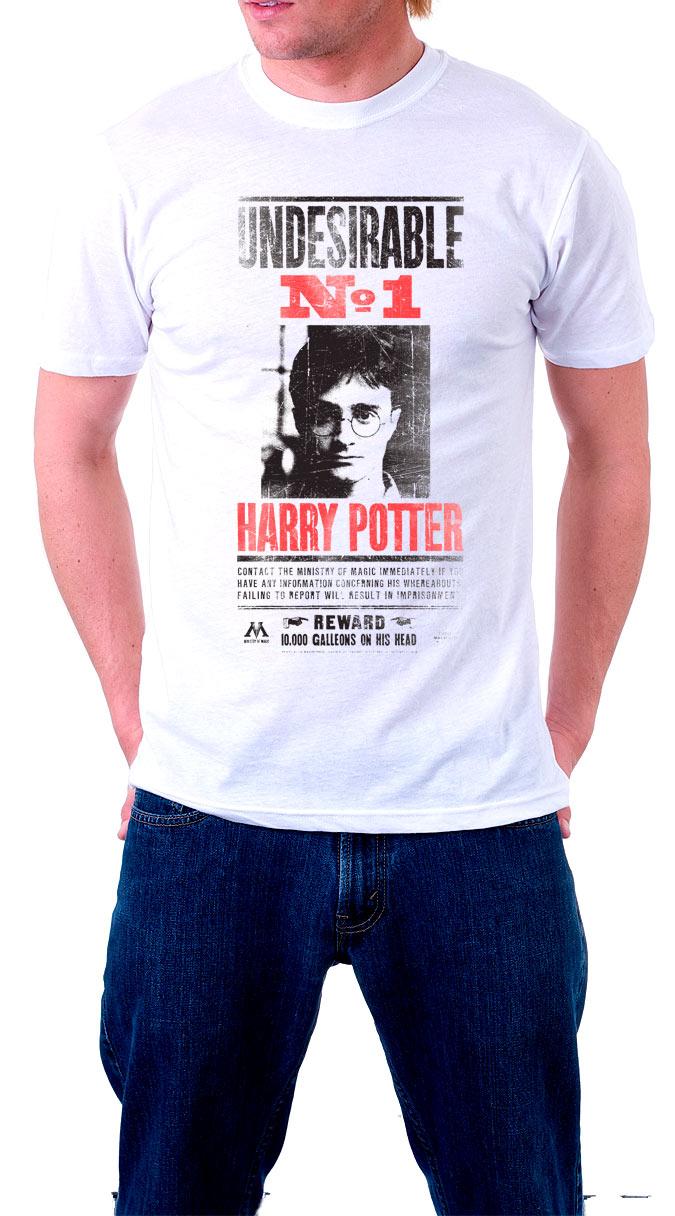 Camiseta Undesirable nº1 Harry Potter