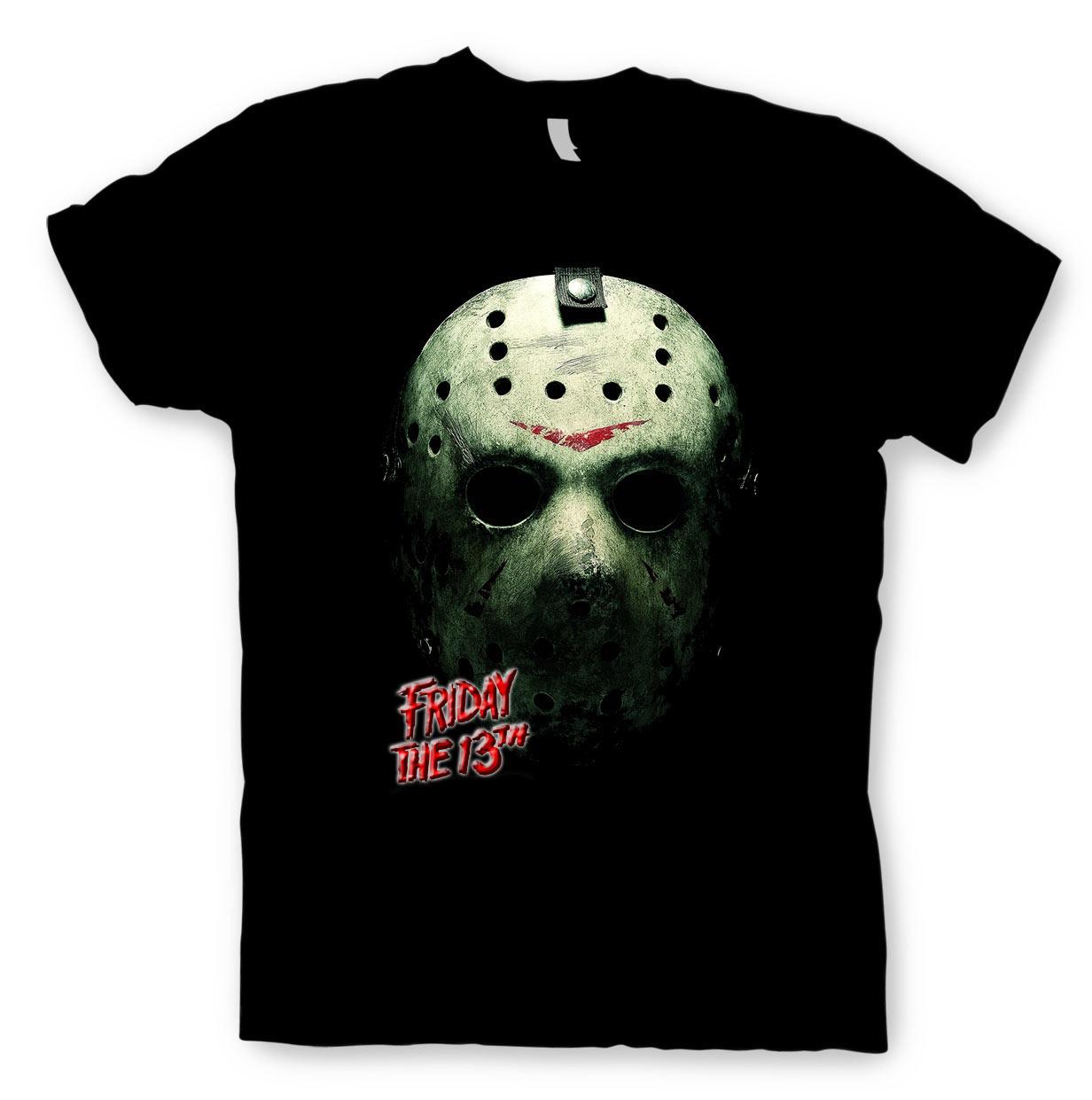 Camiseta Viernes 13. Máscara