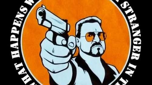 Camiseta Walter pistola