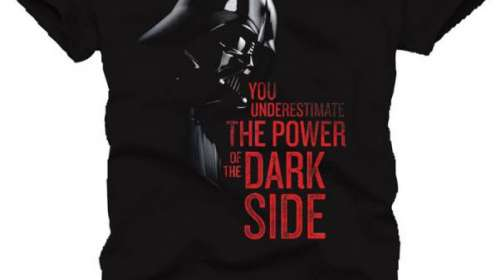 Camiseta You underestimate the power of the dark side. Star Wars