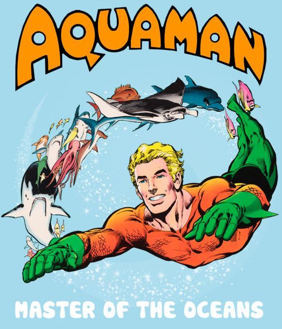 Camiseta chica Aquaman
