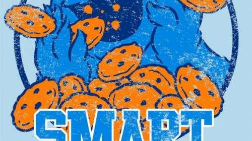 Camiseta chica Barrio Sésamo. Smart cookie