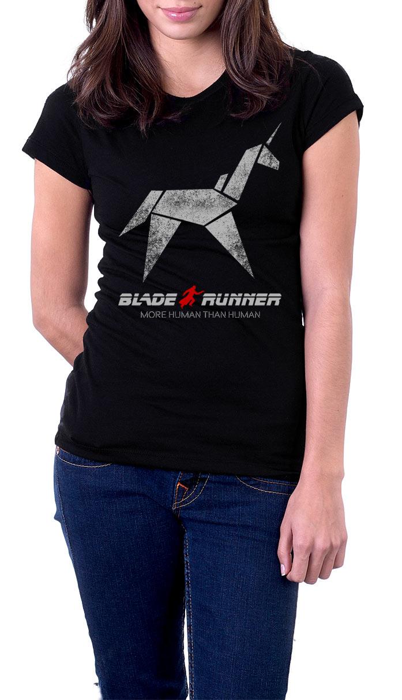 Camiseta chica Blade Runner Unicorn