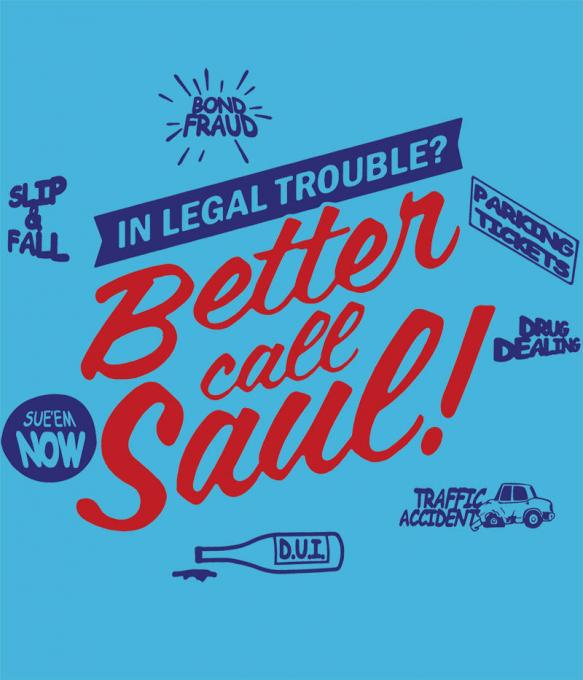 Camiseta chica Breaking Bad. Better Call Saul