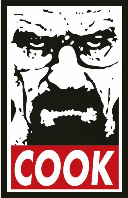 Camiseta chica Breaking Bad. Cook