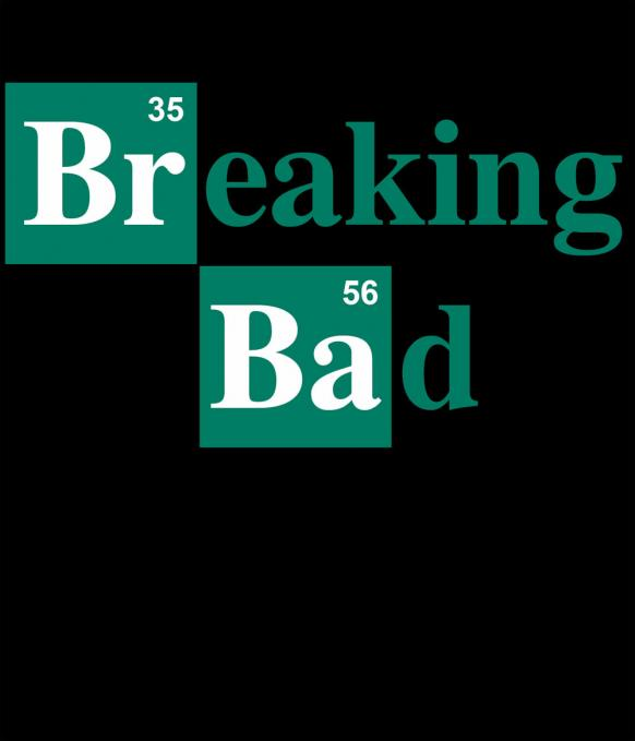 Camiseta chica Breaking Bad. Fórmula