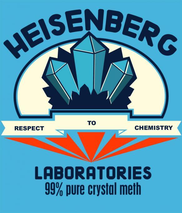 Camiseta chica Breaking Bad. Heisenberg laboratories