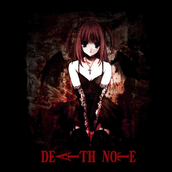 Camiseta chica Death Note. Amane Misa
