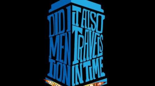 Camiseta chica Doctor Who. Tardis