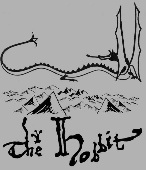 Camiseta chica El Hobbit. Dragón Smaug