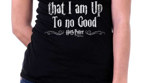Camiseta chica Harry Potter I solemnly swear that I am up to no good