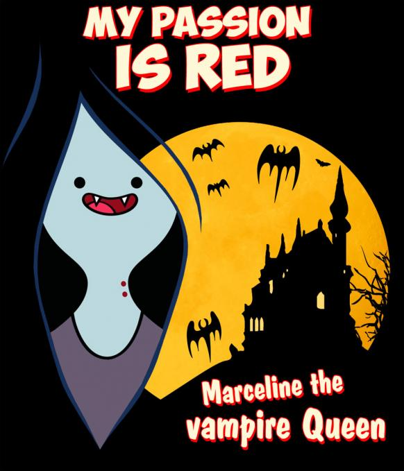 Camiseta chica Hora de Aventuras. Marceline the vampire Queen