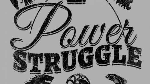Camiseta chica Juego de Tronos. Power Struggle