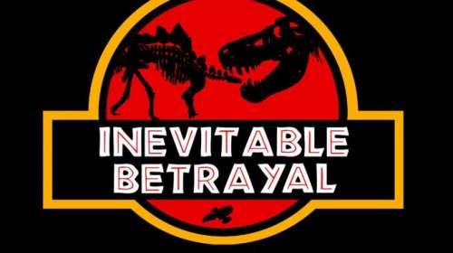 Camiseta chica Jurassic Park. Inevitable Betrayal