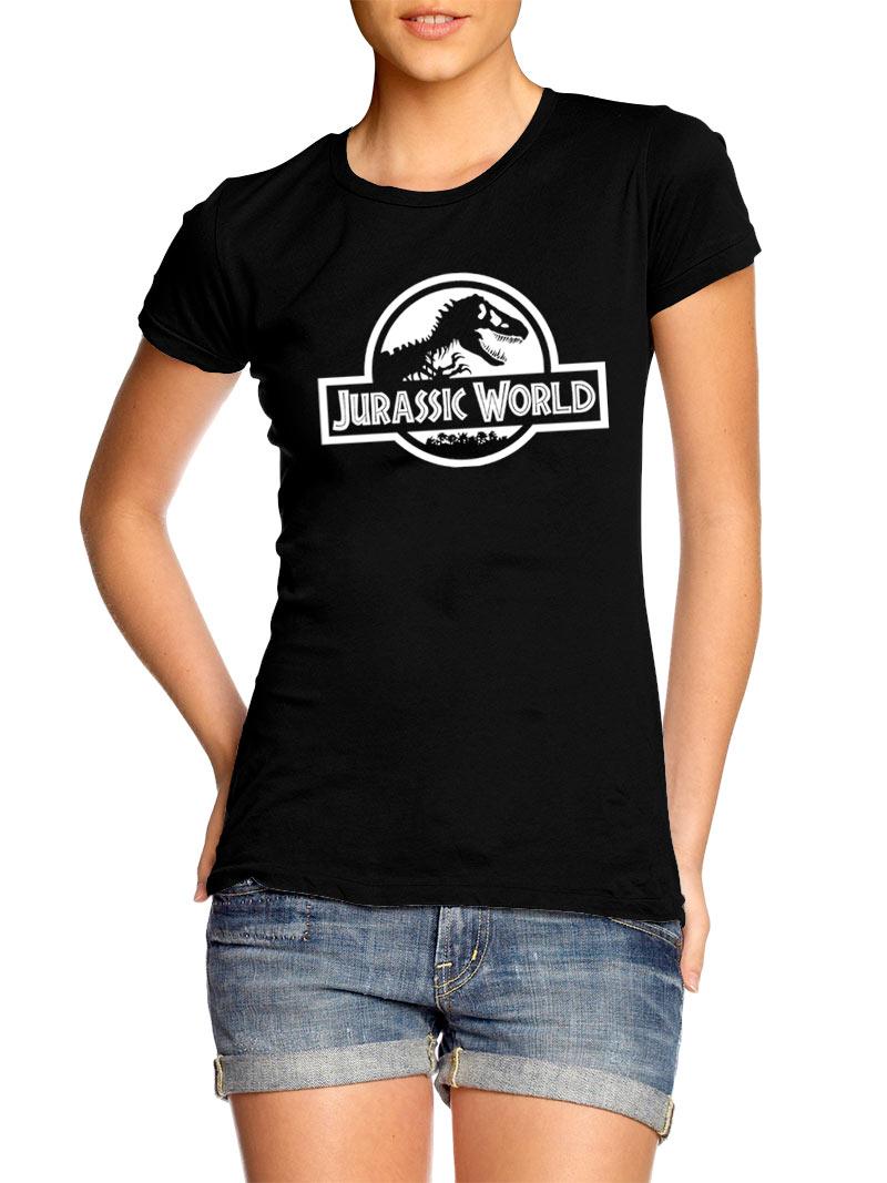 Camiseta chica Jurassic Park. Modelo 4
