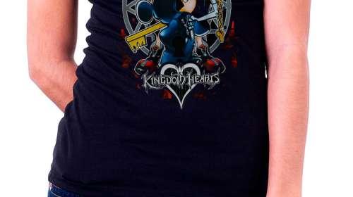 Camiseta chica Kingdom Hearts llave