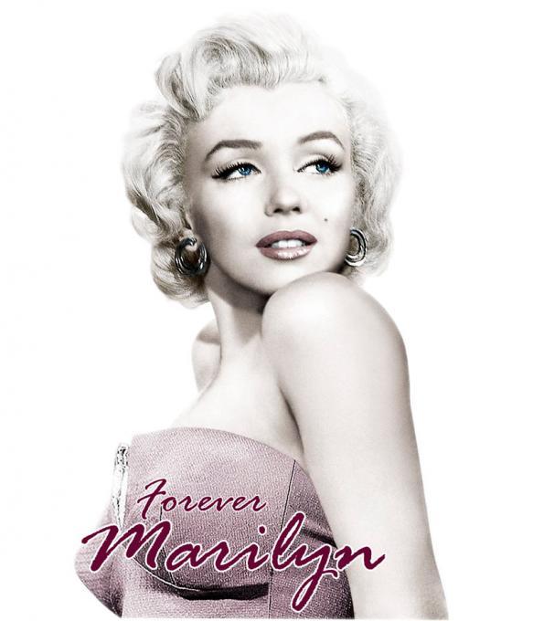 Camiseta chica Marilyn Monroe. Forever