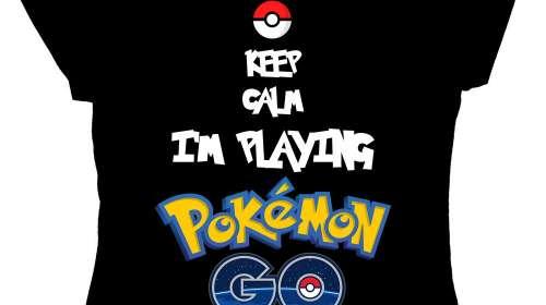Camiseta chica Pokemon Go