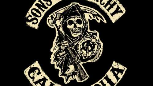 Camiseta chica Sons of Anarchy. California