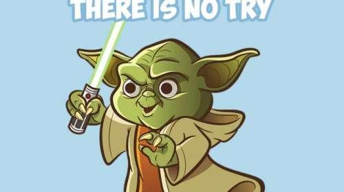 Camiseta chica Star Wars. Yoda