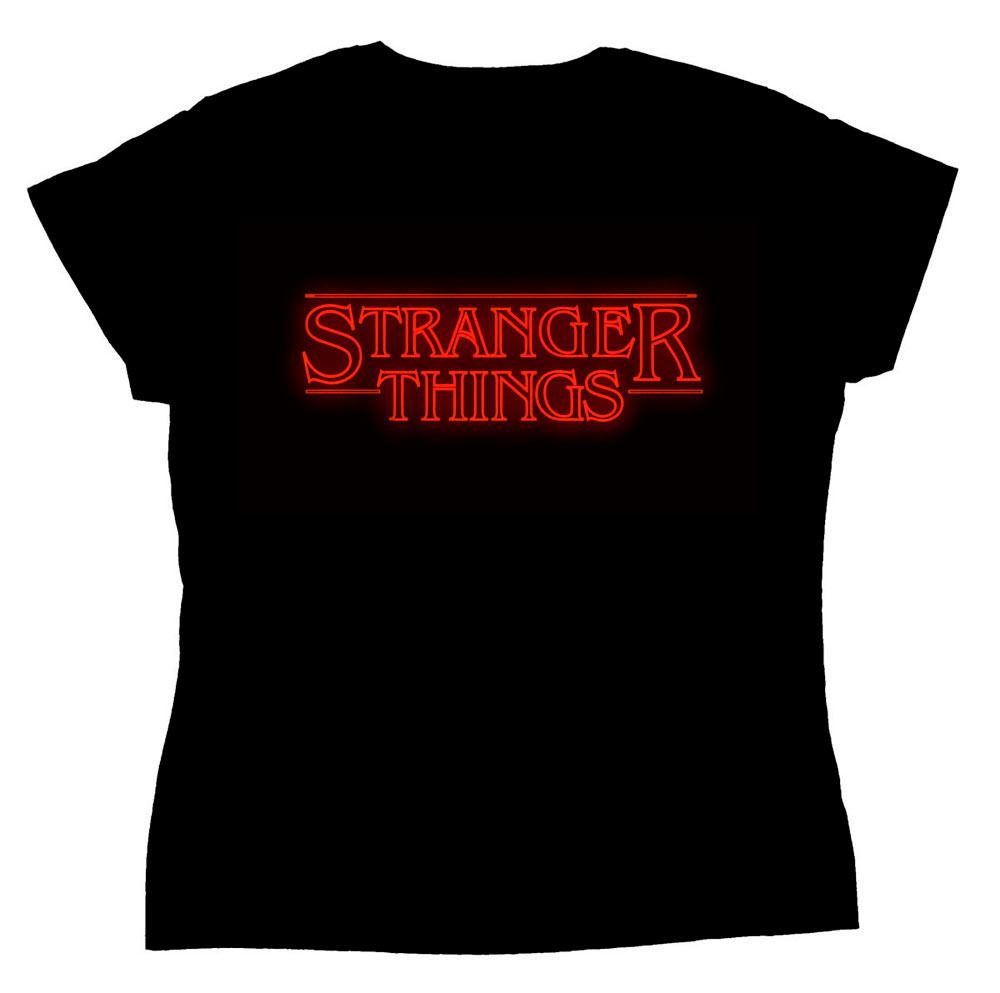 Camiseta chica Stranger Things
