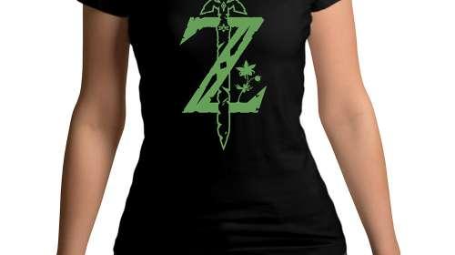Camiseta chica The Legend of Zelda espada