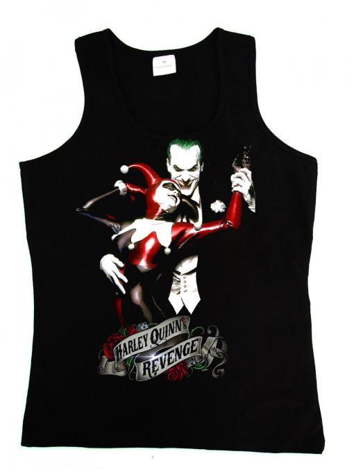 Camiseta chica tirantes Batman: Arkham City. Harley Quinn Revenge