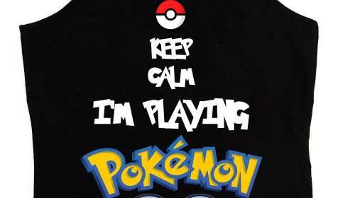 Camiseta chica tirantes Pokemon Go