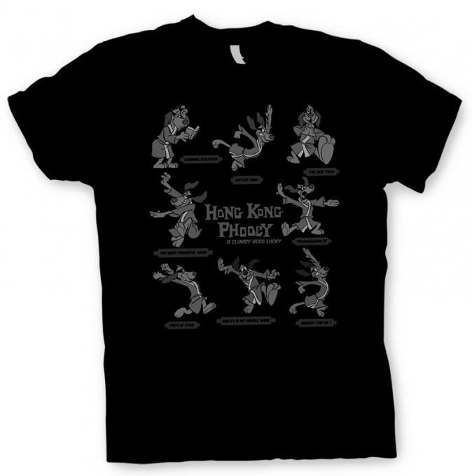 Camiseta conserje Penry. Hong Kong Phooey